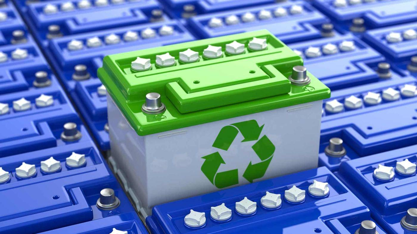 ¿Cómo reciclar una batería de auto?