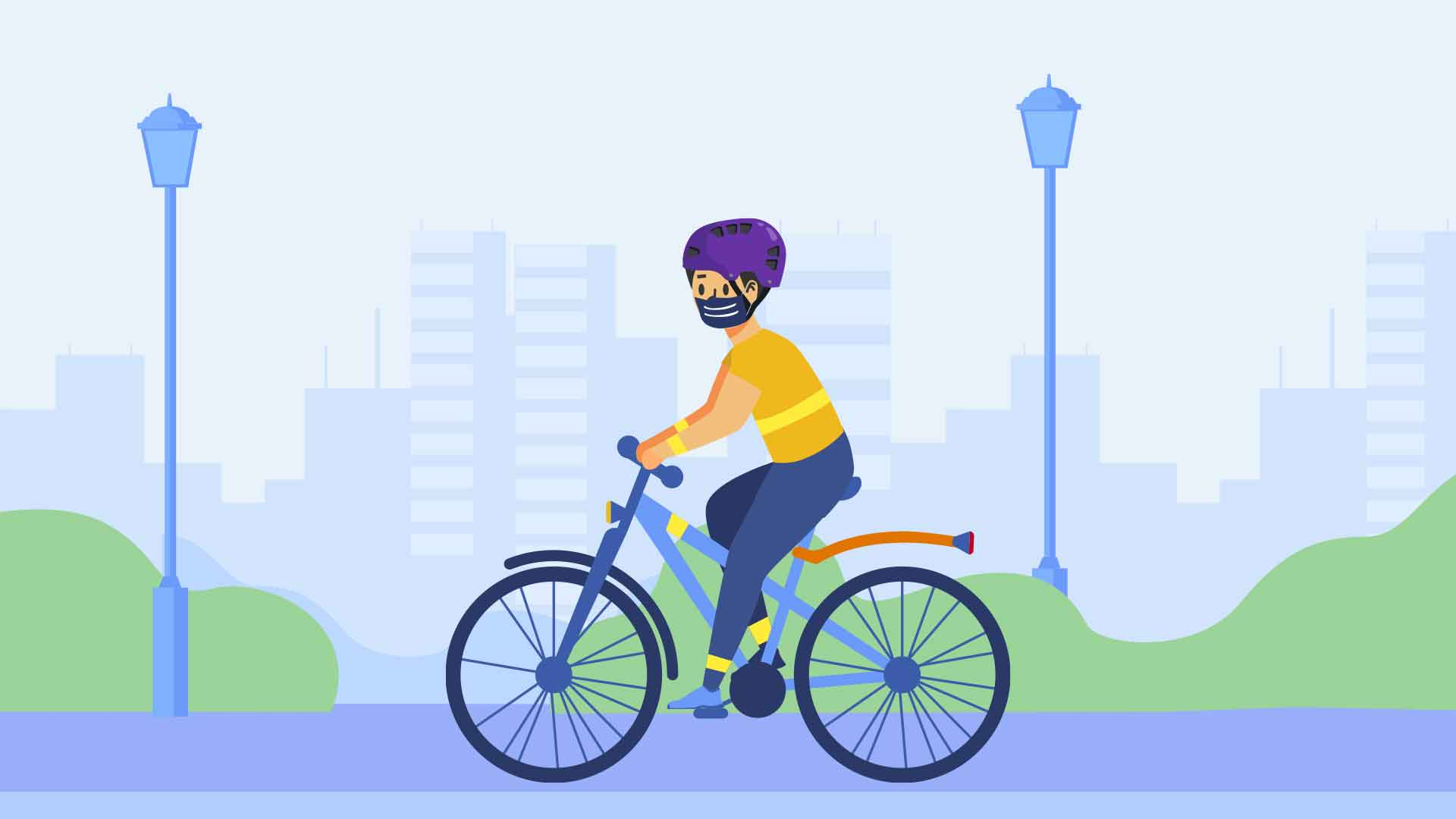 Checklist antes de salir a andar en bicicleta